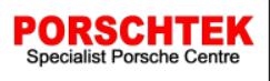 Porschetek garage logo