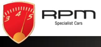 RPM garage logo