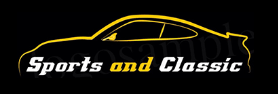 Sports and classic cars logo