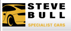 Steve Bull Porsche garage logo